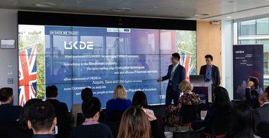 UKDE et CBBC tiennent une conférence de presse sur la stratégie mondiale d'UKDE sur le thème « In Data We Trust »